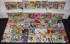 Vintage Marvel Bronze/Copper Age Spectacular Spider-Man 61pc Mid Grade Comic Lot