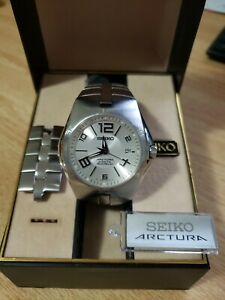 Seiko Arctura Kinetic Auto Relay Watch,10 Bar, 5J32 OAPO, Sapphire Crystal