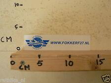 STICKER,DECAL FOKKER WWW.FOKKERTF27.NL AIRPLANE F27 FRIENDSHIP