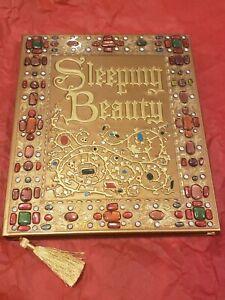 Disney Parks Sleeping Beauty Storybook prop replica Journal Blank Book NEW
