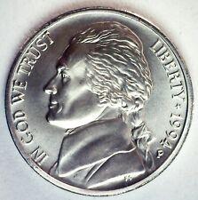 1994 P Jefferson Matte Finish BU Nickel 5c US Coin Toned Philadelphia Unc Coin