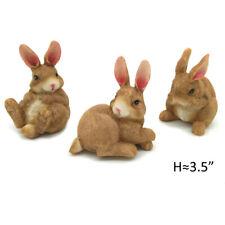 Polyresin Outdoor Decor Bunny Garden Rabbit Statue Lawn Ornaments