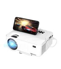 TOPVISION Mini Beamer mit Screen Mirroring, 4500 Lumen Heimkino Beamer Full HD