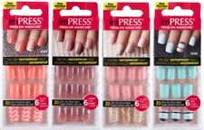 KISS imPRESS GEL Press-On Nails, Short BRAND NEW & SEALED PLEASE SELECT 1