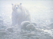 """Stretching Canada Goose - By Robert Bateman LTD Giclee on Canvas size  28"""" x 36"""""""