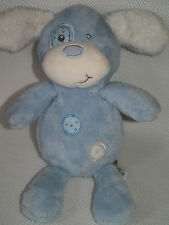 CHAD VALLEY BLUE PUPPY DOG TEDDY BABY COMFORTER SOFT TOY NEXT DAY POST