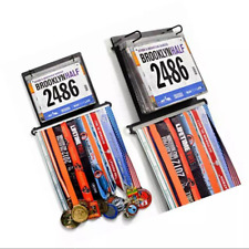 Medal Hanger/Holder/Display/Rack- ALL IN ONE DISPLAY- STORE MEDALS, BIBS, PHOTOS