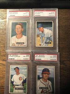 1951 Bowman #229 Bill Howerton 8 Nr Mt Mint