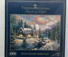 Gibsons puzzle 1000pcs thomas kinkade high country noël £ 11.99