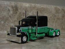 DCP 1/64 Vetter Mint Green Black Peterbilt Semi Truck Farm Toy