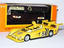 Solido GAM2 #57 Renault Alpine A441 1975 Mugello #5 1/43 Boxed