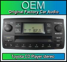 Toyota Corolla CD player radio, Toyota car stereo W58802 86120-02260