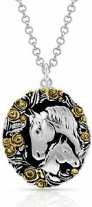 Montana Silversmiths Winner's Circle Horse Necklace