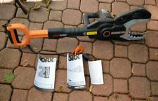 Worx JawSaw Electric Corded Chain Saw WG308 no extension pole used once-twice