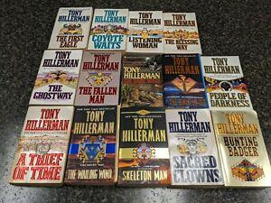 Tony Hillerman Paperback Books Lot of 14