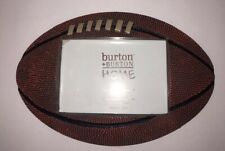 Ceramic Football Shaped Picture Frame Sports Team Photo