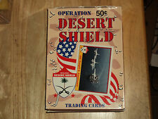 1991 PACIFIC DESERT SHIELD TRADING CARD box