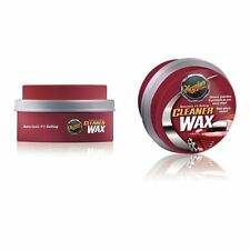 Meguiars Cleaner Wax Tub 311g A1214 Paste Car Enhances Colour Polish Cleaning