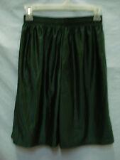 NWOT Men's M.J. Soffe Nylon Sport Shorts Size Small Dark Green #322M