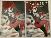 Batman The Adventures Continue #1 Momoko Trade & Virgin Variant Set NM+ DC