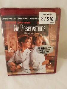 No Reservations Hd Dvd English French Espanol Brand New Sealed