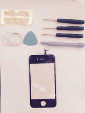 Cristal Pantalla Tactil Iphone 4 4G +herramientas +adhesivo NEGRO / ORIGINAL