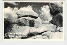 RPPC REAL PHOTO POSTCARD ARIZONA WILLCOX DRAGOON MOUNTAINS BALLANCED ROCKS