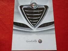 """ALFA ROMEO Giulietta 940 """"Collezione"""" Sondermodell Prospekt Brochure von 2013"""