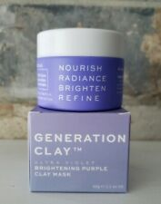 GENERATION CLAY Ultra Violet Brightening Purple Clay Mask 2.1oz FREE SHIPPING