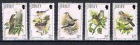 Jersey MiNr. 630-34 postfrisch MNH Vögel (Vög2509