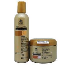 Keracare Hair Milk Daily Hair Sustainer 8 Fl. Oz. + Twist & Define Cream 8 Oz.