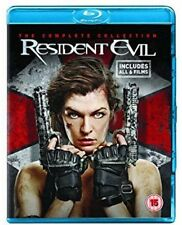Resident Evil - The Complete Collection (6 Movies) Blu-Ray NEW BLU-RAY (SBRP8549