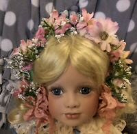DOLL Head Band HAT for Antique French, German, or Modern Doll