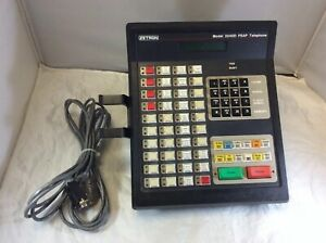 ZETRON Emergency 911 Dispatch 3240D PSAP Telephone 901-9563 M3240D 901-9563