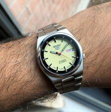 Seiko 2001 Luminous Stunning Green dial Super Rare Retro Vintage 7S26 Automatic