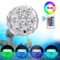 RGB Unterwasser Stimmungslicht LED Lampe Pool Boot Licht Beleuchtung Teich Deko