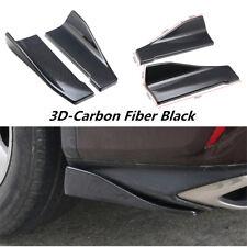 Shark Chin Spoiler Lip Diffuser Trim Carbon Fiber For Car Rear Bumper Body Kit
