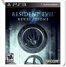 PS3 Resident Evil: Revelations RE SONY Playstation Capcom Action Games