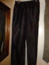 Ken Sington Square Pants Ladies Size Large Black Polyester Elastic Waist