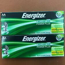 NEW Energizer AA Rechargeable Batteries, Power Plus, PreCharged NiMH  2000mAh