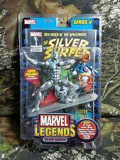 NEW SEALED Marvel Legends Series V 5 Silver Surfer Howard Duck Figure TOYBIZ AH