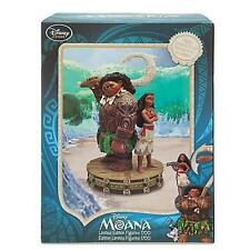 NEW Disney -  Maui and Moana Limited Edition 1700 Figurine Medium Fig 10""