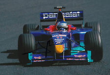 "Jean Alesi ""Sauber"" Autogramm signed 20x30 cm Bild"