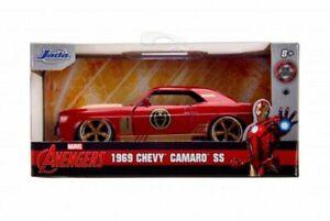 jada 1:32 Hollywood rides iron man 1969 chevy camaro ss car