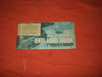 ORIGINAL 1969 Ford F100 F250 F350 truck pickup owners operators manual