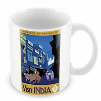 Mug Visit India Inde Travel Voyage Original Vintage