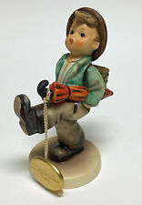 "Hummel Goebel Figurines Globe Trotter #79 Final Issue Germany 1991 Signed 5"""