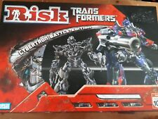 RISK TRANSFORMERS  Cybertron Battle Edition  Board Game