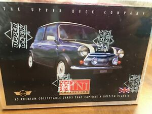 Upper Deck 77056 The Mini Collection - 45 Premium Collectible Cards New & Sealed