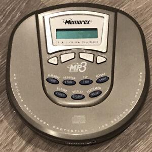 MEMOREX MP3 CD Player Model MPD8506